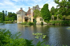 Scotney Castle moat Stock Photos