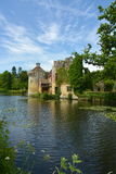 English castle. Scotney Castle Royalty Free Stock Images