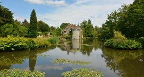 English castle. Scotney Castle Stock Images