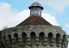 Scotney castle tower in England Royalty Free Stock Photos
