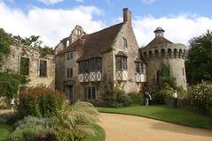 Scotney-Schloss, Lamberhurst, Kent, England lizenzfreie stockbilder