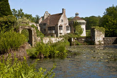 Scotney slott, Kent, England, UK Royaltyfria Foton