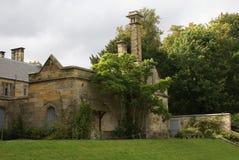 Scotney slottdetaljer i England Royaltyfri Foto