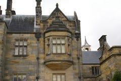 Scotney slottdetaljer i England Arkivfoto