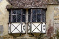 Scotney slottfönster i England Fotografering för Bildbyråer
