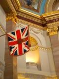 Scots Koninklijke de Unie van Victoria Canada Parliament Interior Western Vlag royalty-vrije stock foto's