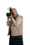 Scots Photographer Royalty Free Stock Image