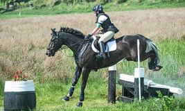 Scotsburn Horse Trial British Eventing Stock Photos