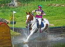 Scotsburn-Pferdeversuch Stockfotos