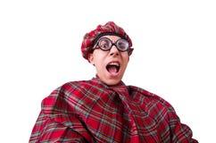 Scotsman divertido fotografía de archivo libre de regalías