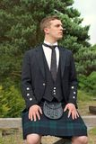 Scotsman in a Kilt Stock Photography