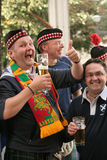scotsmen Royaltyfria Bilder