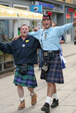 Scotsmen photo stock