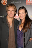 Scott Bakula, Chelsea Field Photographie stock libre de droits
