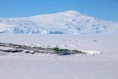 Scott Base, Antarctique Photo libre de droits