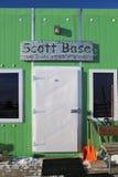 Scott Base, Ross Island, Antarctica Stock Photos