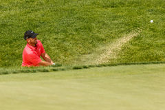 Scott Brown at the Memorial Tournament Royalty Free Stock Photo