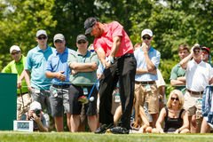 Scott Brown at the Memorial Tournament Stock Image