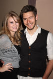Scott Clifton,Kim Matula Stock Photo