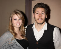 Scott Clifton,Kim Matula Stock Image