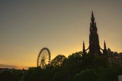 Scott-Denkmal, Edinburgh Stockfoto