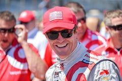 Scott Dixon, Indy-Autofahrer Stockbild