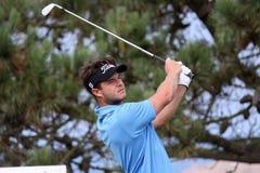 Scott Fallon au défi 2013 de golf de Pleneuf Val Andre Images stock