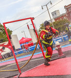 Firefighter World Combat Challenge XXIV Royalty Free Stock Photos