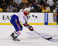 Scott Gomez Montreal Canadiens Stock Foto's