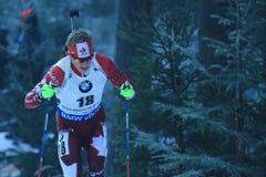 Scott Gow - biathlon Royalty Free Stock Photography