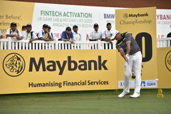 Scott Hend, championnat 2017 de Maybank Photos stock
