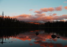 Scott Lake Sunset Stock Images