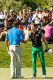 Scott Langley and Bubba Watson at the Memorial Tournament Stock Images