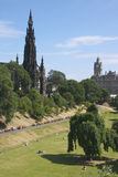 Scott Monument 1 Stock Photography