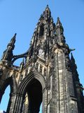 Scott Monument Royalty Free Stock Image