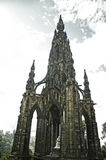 Scott Monument Edinburgh Royaltyfri Foto