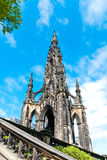 Scott Monument in Edinburgh Royalty Free Stock Photography