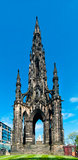 Scott Monument in Edinburgh Stock Image