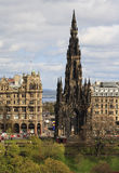 Scott Monument in Edinburgh, Scotland Stock Photography
