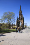 Scott Monument, Edinburgh, Scotland Royalty Free Stock Photography