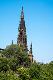 Scott Monument in Edinburgh Royalty Free Stock Images