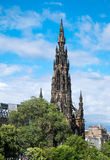 The Scott Monument in Edinburgh Stock Photo