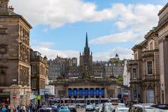 Scott Monument in Edinburgh, UK Royalty Free Stock Photos