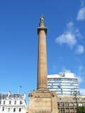 Scott monument, Glasgow Royaltyfria Foton