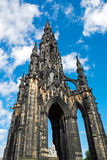 Scott Monument i Edinburg Fotografering för Bildbyråer
