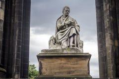 Scott Monument i Edinburg, Skottland Arkivfoto