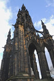 Scott Monument at Princes Street Gardens,Edinburgh Stock Images
