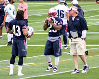 Scott O'Brien, Special Teams coach, New England Patriots. Royalty Free Stock Image