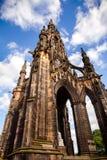 Scott Pomnikowy Edynburg Szkocja UK Zdjęcia Stock