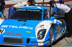 Scott Pruett in pit area Royalty Free Stock Photos